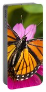 Orange Viceroy Butterfly Portable Battery Charger