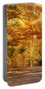 Colorful Canopy Portable Battery Charger by Sandy Keeton