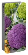Colorful Cauliflower Portable Battery Charger