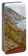 Colorful Cliffs At Point Reyes Portable Battery Charger