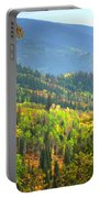 Colorful Colorado Portable Battery Charger by Brian Harig