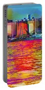 Colorful Coney Island Portable Battery Charger