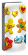 Colorful Cookies Portable Battery Charger