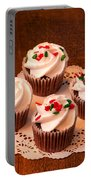Colorful Cupcakes Portable Battery Charger