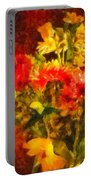 Colorful Cut Flowers - V2 Portable Battery Charger