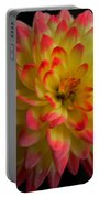 Colorful Dahlia Portable Battery Charger