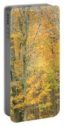 Colorful Fall Trees In Maine Portable Battery Charger