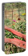Colorful Fence Row Portable Battery Charger