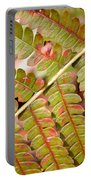 Colorful Fern Square Portable Battery Charger