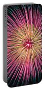 Colorful Fireworks Portable Battery Charger