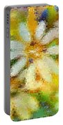 Colorful Floral Abstract II Portable Battery Charger