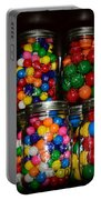 Colorful Gumballs Portable Battery Charger by Paul Ward