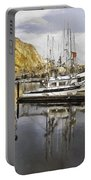Colorful Harbor II Impasto Portable Battery Charger