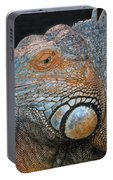 colorful Iguana Portable Battery Charger