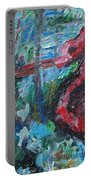Colorful Impressionism Portable Battery Charger