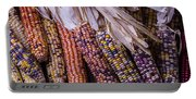 Colorful Indian Corn Portable Battery Charger