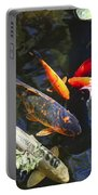 Colorful Koi Portable Battery Charger