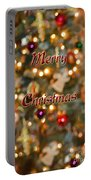 Colorful Lights Christmas Card Portable Battery Charger