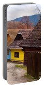 Colorful Log Homes Portable Battery Charger