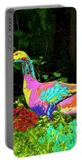 Colorful Lucy Goosey Portable Battery Charger