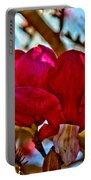 Colorful Magnolia Blossom Portable Battery Charger