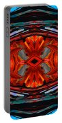 Colorful Modern Art - Desire's Call - By Sharon Cummings Portable Battery Charger
