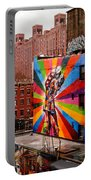 Colorful Mural Chelsea New York City Portable Battery Charger