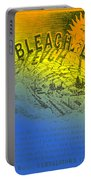 Colorful Old Bleach Linen Ad Portable Battery Charger