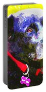 Colorful Old Dog Portable Battery Charger