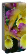 Colorful Orchids Portable Battery Charger