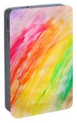 Colorful Painting Pattern Portable Battery Charger