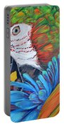 Colorful Parrot Portable Battery Charger