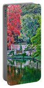 Colorful Riverwalk Portable Battery Charger