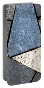 Colorful Rock Pavers Portable Battery Charger