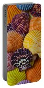 Colorful Shells Portable Battery Charger