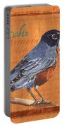 Colorful Songbirds 2 Portable Battery Charger by Debbie DeWitt