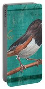 Colorful Songbirds 3 Portable Battery Charger by Debbie DeWitt