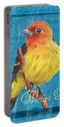 Colorful Songbirds 4 Portable Battery Charger