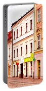 Colorful Town Homes Portable Battery Charger