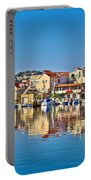 Colorful Town Of Tribunj Waterfront Portable Battery Charger