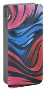 Colorful Urban Street Art From Singapore Portable Battery Charger