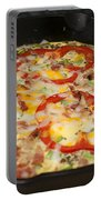 Colorful Vegetable Fritatta Portable Battery Charger