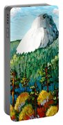 Colorful View Of Idyllwild California Portable Battery Charger