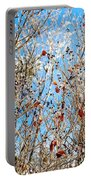 Colorful Winter Wonderland Portable Battery Charger