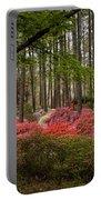 Colorful Woodland Azalea Garden Portable Battery Charger