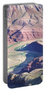Colorodo River Flowing Through The Grand Canyon Portable Battery Charger