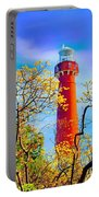 Colors At Barnegat Light Portable Battery Charger