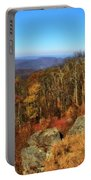 Colors Of Autumn In Shenandoah National Park Portable Battery Charger