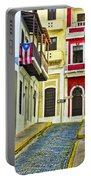 Colors Of Old San Juan Puerto Rico Portable Battery Charger