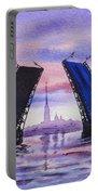 Colors Of Russia Bridges Of Saint Petersburg Portable Battery Charger